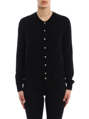 Givenchy: cardigans online - Wool and cashmere soft cardigan