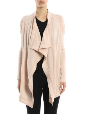 Givenchy: cardigans online - Wool asymmetric cardigan