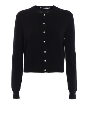 Givenchy: cardigans - Wool and cashmere soft cardigan
