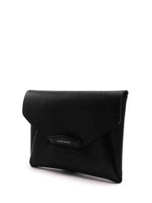 Givenchy: clutches online - Antigona Envelope leather clutch