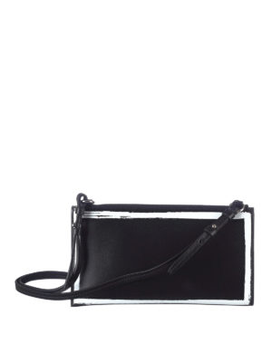Givenchy: clutches online - Brushstroke-effect cross-body bag