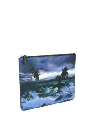 Givenchy: clutches online - Hawaii print clutch