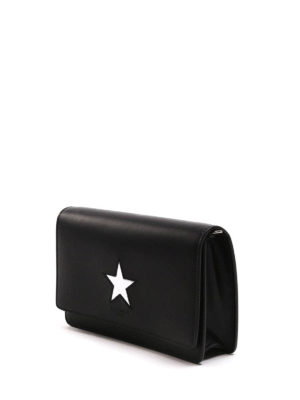Givenchy: clutches online - Pandora leather clutch