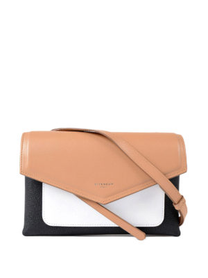 Givenchy: cross body bags - Duetto colour block crossbody