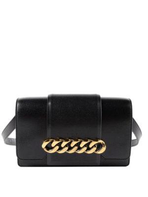 GIVENCHY: borse a tracolla - Borsa Infinity con dettaglio catena