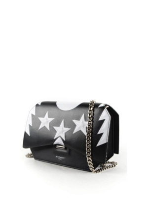 Givenchy: cross body bags online - Bow-cut leather crossbody bag