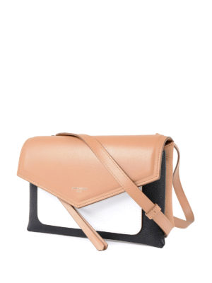 Givenchy: cross body bags online - Duetto colour block crossbody