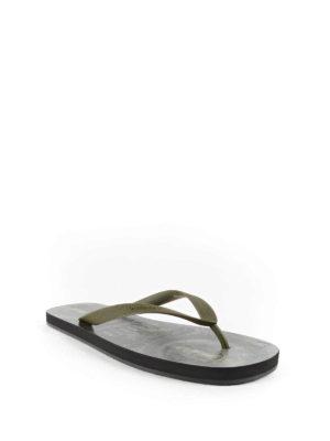 Givenchy: flip flops online - Dollar printed flip-flops
