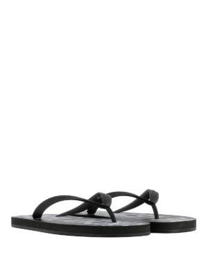 Givenchy: flip flops online - Rubber thong flip flops