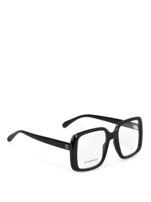 GIVENCHY: Occhiali - Occhiali da vista quadrati neri