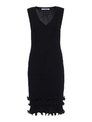 Givenchy: knee length dresses - Viscose pleated dress