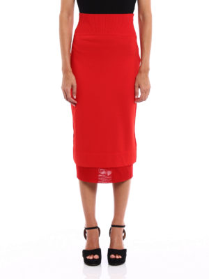 Givenchy: Knee length skirts & Midi online - Viscose blend pencil skirt