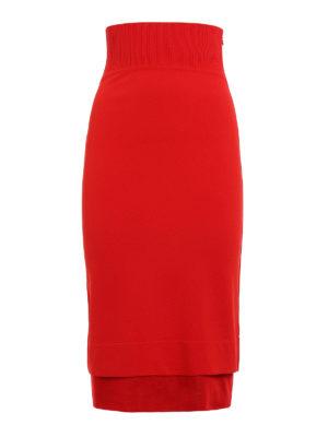 Givenchy: Knee length skirts & Midi - Viscose blend pencil skirt