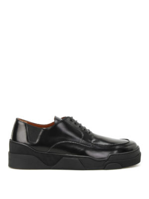Givenchy: lace-ups shoes - Deck Derby leather shoes