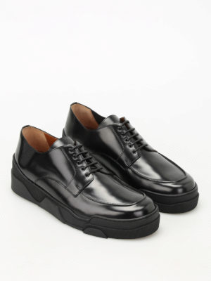 Givenchy: lace-ups shoes online - Deck Derby leather shoes