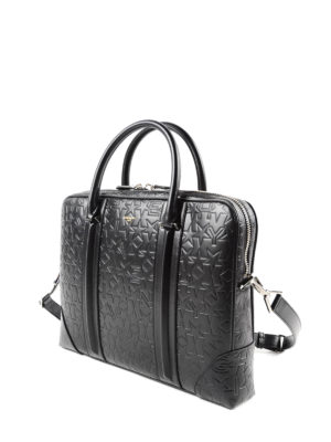 Givenchy: laptop bags & briefcases online - Embossed leather bag
