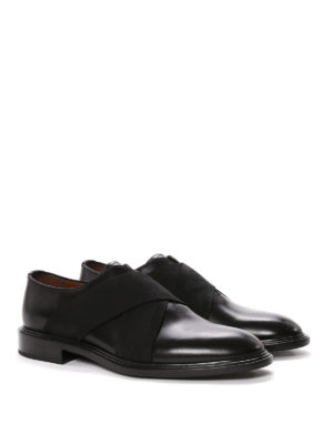 Givenchy: Loafers & Slippers online - Crisscrossed elastic bands slip-ons