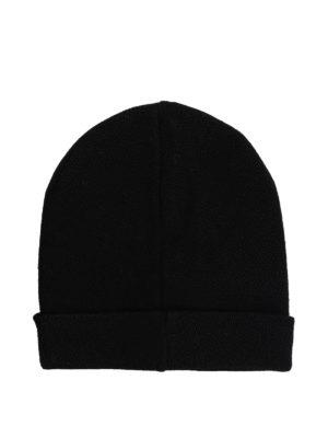 GIVENCHY: berretti online - Berretto in lana con logo a contrasto