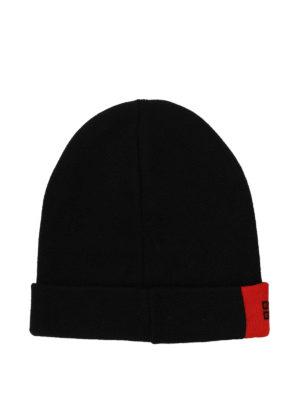 GIVENCHY: berretti online - Berretto in lana con dettaglio rosso