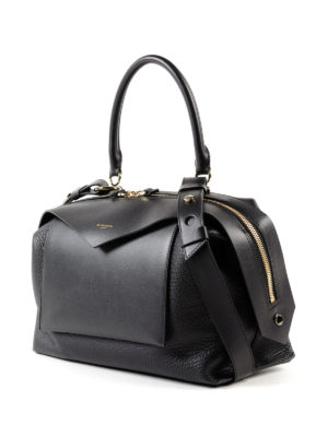 GIVENCHY: bauletti online - Bauletto Sway M in pelle nera