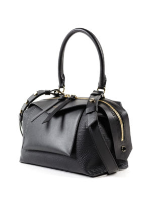 GIVENCHY: bauletti online - Bauletto Sway S in pelle nera