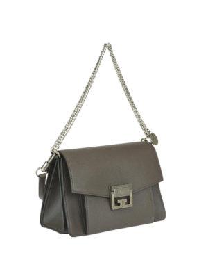 GIVENCHY: borse a tracolla online - Tracolla piccola GV3 in pelle