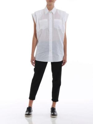GIVENCHY: camicie online - Camicia con maniche a pieghe