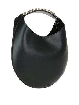 GIVENCHY: borse a spalla online - Borsa tonda pelle lucida Infinity