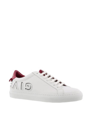 GIVENCHY: sneakers online - Sneaker in pelle Urban Street con nodini
