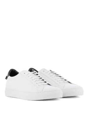 GIVENCHY: sneakers online - Sneaker low top bianche in pelle