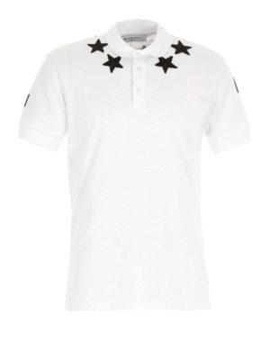 Givenchy: polo shirts - Contrasting patches polo shirt