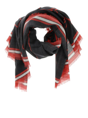 Givenchy: scarves - Bambi print silk blend scarf
