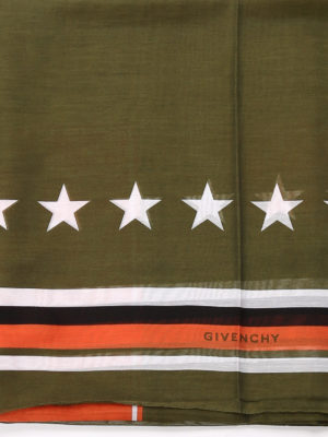Givenchy: scarves online - Cotton printed scarf
