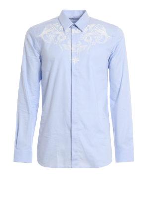 Givenchy: shirts - Cotton printed shirt