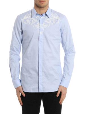 Givenchy: shirts online - Cotton printed shirt
