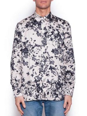 Givenchy: shirts online - Flower pattern cotton shirt