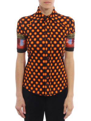 Givenchy: shirts online - Patterned jersey shirt