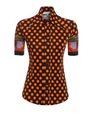 Givenchy: shirts - Patterned jersey shirt