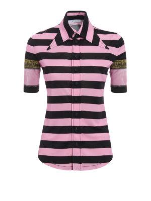 Givenchy: shirts - Striped jersey shirt