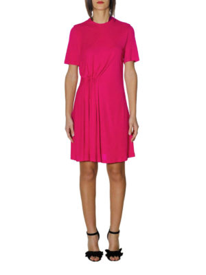 Givenchy: short dresses online - Viscose jersey fuchsia dress