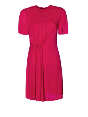 Givenchy: short dresses - Viscose jersey fuchsia dress