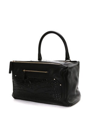Givenchy: shoulder bags online - Pandora croco print leather bag