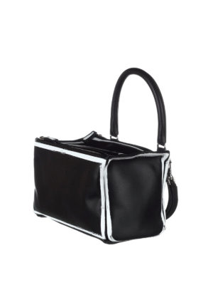 Givenchy: shoulder bags online - Pandora logo detail leather bag