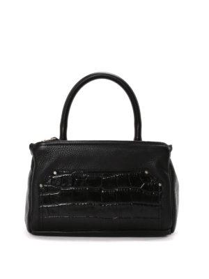 Givenchy: shoulder bags - Pandora croco print leather bag
