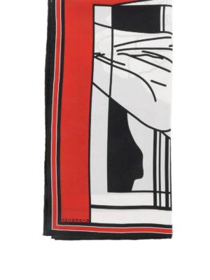 Givenchy: Stoles & Shawls online - Bambi print silk shawl