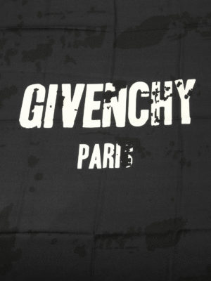 Givenchy: Stoles & Shawls online - Contrasting logo print shawl