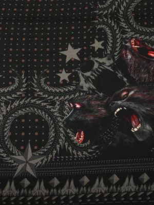 Givenchy: Stoles & Shawls online - Monkey Brothers printed shawl