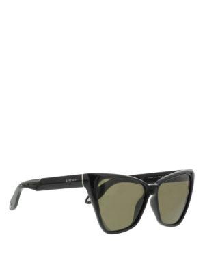 Givenchy: sunglasses - Geometric frame sunglasses