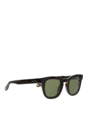 Givenchy: sunglasses - Micro studs embellished sunglasses