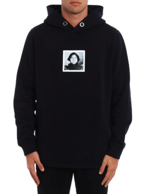 Givenchy: Sweatshirts & Sweaters online - Red Woman print hoodie